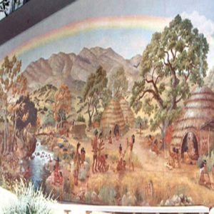 Our First Inhabitants: The Chumash Indians Mural