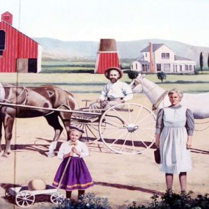 Family Farms Mural