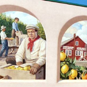 Santa Paula, Citrus Capital of the World Mural