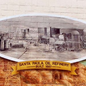 Discovering Black Gold Mural