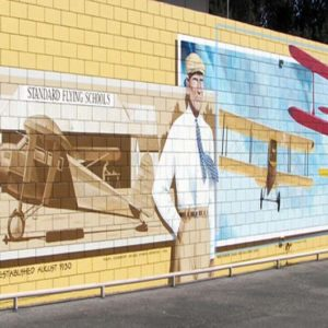 Honoring the Founders and Pilots of Santa Paula Airport Mural